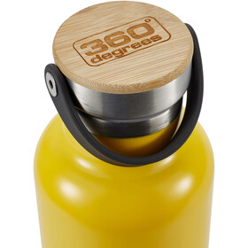 360° degrees Vacuum Insulated Drink Bottle 750ml, yellow
